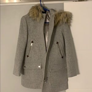 J Crew Chateau Wool Coat